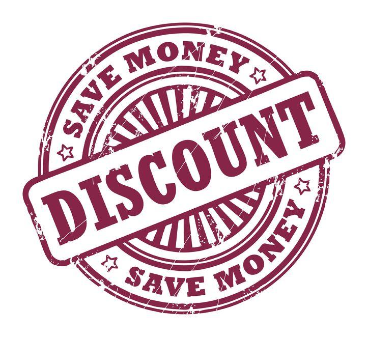 discount - save money